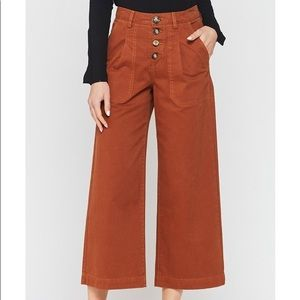 NWT Velvet Heart Malik Wide Leg Pants